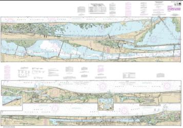 Buy map Intracoastal Waterway Tolomato River to Palm Shores Nautical Chart (11485) by NOAA from Florida Maps Store