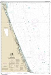 Buy map St. Augustine Light to Ponce de Leon Inlet Nautical Chart (11486) by NOAA from Florida Maps Store