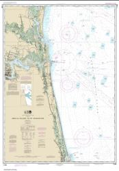 Buy map Amelia Island to St. Augustine Nautical Chart (11488) by NOAA from Florida Maps Store