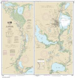 Buy map St. Johns River Lake Dexter to Lake Harney Nautical Chart (11498) by NOAA from Florida Maps Store