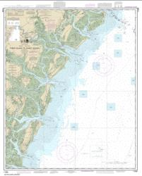 Buy map Tybee Island to Doboy Sound Nautical Chart (11509) by NOAA from Georgia Maps Store