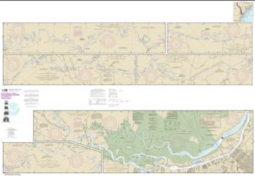Buy map Savannah River Savannah to Brier Creek Nautical Chart (11514) by NOAA from South Carolina Maps Store
