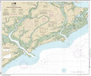 Buy map Stono and North Edisto Rivers Nautical Chart (11522) by NOAA from South Carolina Maps Store