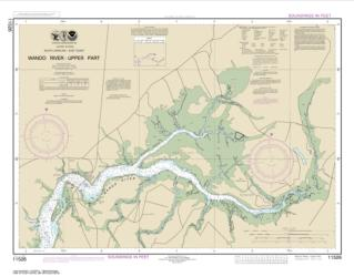 Buy map Wando River Upper Part Nautical Chart (11526) by NOAA from South Carolina Maps Store