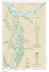 Buy map Cooper River Above Goose Creek Nautical Chart (11527) by NOAA from South Carolina Maps Store