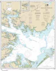 Buy map Pamlico Sound Western Part Nautical Chart (11548) by NOAA from North Carolina Maps Store