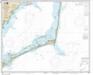 Buy map Cape Hatteras-Wimble Shoals to Ocracoke Inlet Nautical Chart (11555) by NOAA from North Carolina Maps Store