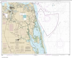 Buy map Cape Henry to Currituck Beach Light Nautical Chart (12207) by NOAA from Virginia Maps Store