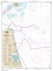 Buy map Approaches to Chesapeake Bay Nautical Chart (12208) by NOAA from Virginia Maps Store