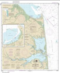 Buy map Cape Henlopen to Indian River Inlet; Breakwater Harbor Nautical Chart (12216) by NOAA from Delaware Maps Store