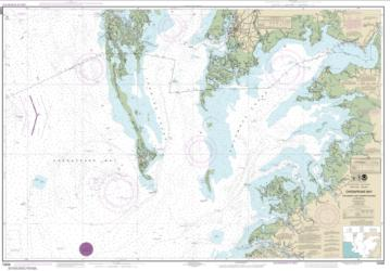 Buy map Chesapeake Bay Pocomoke and Tangier Sounds Nautical Chart (12228) by NOAA from Virginia Maps Store