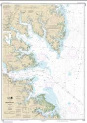 Buy map Chesapeake Bay Mobjack Bay and York River Entrance Nautical Chart (12238) by NOAA from Virginia Maps Store