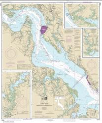 Buy map James River Newport News to Jamestown Island; Back River and College Creek Nautical Chart (12248) by NOAA from Virginia Maps Store