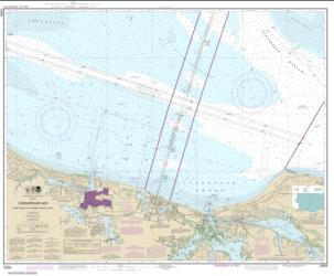 Buy map Chesapeake Bay Cape Henry to Thimble Shoal Light Nautical Chart (12254) by NOAA from Virginia Maps Store
