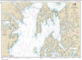 Buy map Chesapeake Bay Eastern Bay and South River; Selby Bay Nautical Chart (12270) by NOAA from Maryland Maps Store