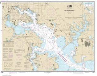Buy map Baltimore Harbor Nautical Chart (12281) by NOAA from Maryland Maps Store