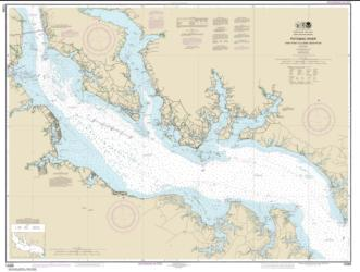 Buy map Potomac River Piney Point to Lower Cedar Point Nautical Chart (12286) by NOAA from Maryland Maps Store