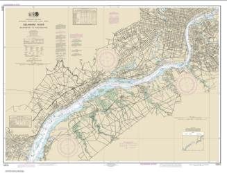 Buy map Delaware River Wilmington to Philadelphia Nautical Chart (12312) by NOAA from Delaware Maps Store