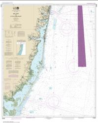 Buy map Sea Girt to Little Egg Inlet Nautical Chart (12323) by NOAA from New Jersey Maps Store