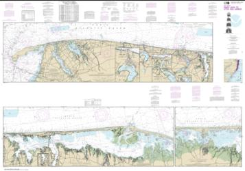 Buy map Intracoastal Waterway Sandy Hook to Little Egg Harbor Nautical Chart (12324) by NOAA from New Jersey Maps Store