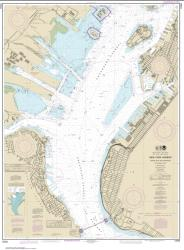Buy map New York Harbor Upper Bay and Narrows-Anchorage Chart Nautical Chart (12334) by NOAA from New York Maps Store