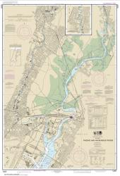 Buy map Passaic and Hackensack Rivers Nautical Chart (12337) by NOAA from New Jersey Maps Store