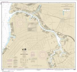 Buy map East River Newtown Creek Nautical Chart (12338) by NOAA from New York Maps Store