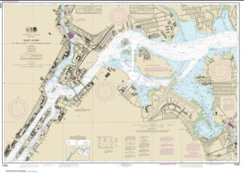 Buy map East River Tallman Island to Queensboro Bridge Nautical Chart (12339) by NOAA from New York Maps Store