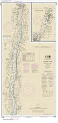 Buy map Hudson River Coxsackie to Troy Nautical Chart (12348) by NOAA from New York Maps Store