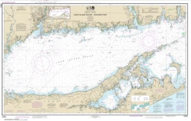 Buy map Long Island Sound Eastern part Nautical Chart (12354) by NOAA from New York Maps Store