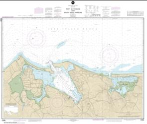 Buy map Port Jefferson and Mount Sinai Harbors Nautical Chart (12362) by NOAA from New York Maps Store