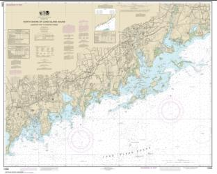 Buy map North Shore of Long Island Sound Sherwood Point to Stamford Harbor Nautical Chart (12368) by NOAA from New York Maps Store