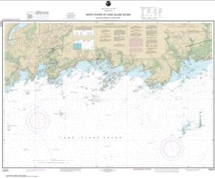 Buy map North Shore of Long Island Sound Guilford Harbor to Farm River Nautical Chart (12373) by NOAA from Connecticut Maps Store