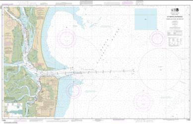 Buy map St. Marys Entrance Cumberland Sound and Kings Bay Nautical Chart (11503) by NOAA from Georgia Maps Store