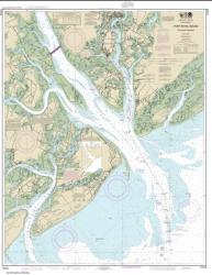 Buy map Port Royal Sound and Inland Passages Nautical Chart (11516) by NOAA from South Carolina Maps Store