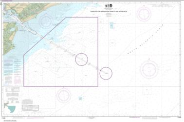 Buy map Charleston Harbor Entrance and Approach Nautical Chart (11528) by NOAA from South Carolina Maps Store