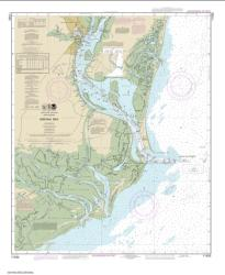 Buy map Winyah Bay Nautical Chart (11532) by NOAA from South Carolina Maps Store