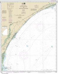Buy map Little River lnlet to Winyah Bay Entrance Nautical Chart (11535) by NOAA from South Carolina Maps Store
