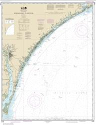 Buy map New River Inlet to Cape Fear Nautical Chart (11539) by NOAA from North Carolina Maps Store