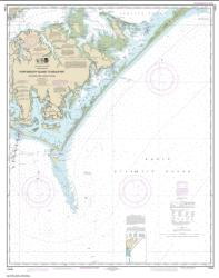 Buy map Portsmouth Island to Beaufort, Including Cape Lookout Shoals Nautical Chart (11544) by NOAA from North Carolina Maps Store