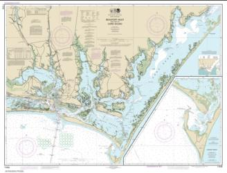 Buy map Beaufort Inlet and Part of Core Sound; Lookout Bight Nautical Chart (11545) by NOAA from North Carolina Maps Store
