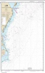 Buy map Cape May to Cape Hatteras Nautical Chart (12200) by NOAA from North Carolina Maps Store