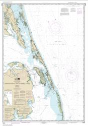 Buy map Currituck Beach Light to Wimble Shoals Nautical Chart (12204) by NOAA from North Carolina Maps Store