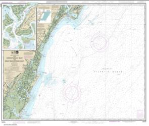 Buy map Chincoteague Inlet to Great Machipongo Inlet; Chincoteague Inlet Nautical Chart (12210) by NOAA from Virginia Maps Store