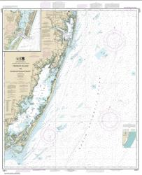 Buy map Fenwick Island to Chincoteague Inlet; Ocean City Inlet Nautical Chart (12211) by NOAA from Delaware Maps Store
