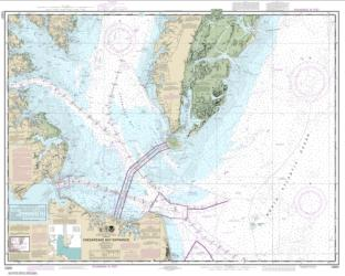 Buy map Chesapeake Bay Entrance Nautical Chart (12221) by NOAA from Virginia Maps Store