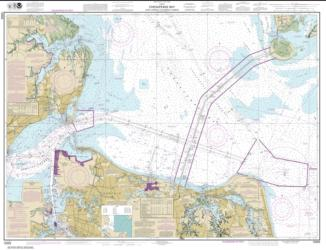 Buy map Chesapeake Bay Cape Charles to Norfolk Harbor Nautical Chart (12222) by NOAA from Virginia Maps Store