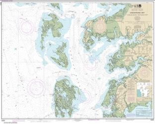Buy map Chesapeake Bay Tangier Sound Northern Part Nautical Chart (12231) by NOAA from Virginia Maps Store