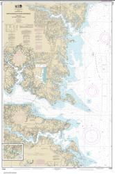 Buy map Chesapeake Bay Rappahannock River Entrance, Piankatank and Great Wicomico Rivers Nautical Chart (12235) by NOAA from Virginia Maps Store