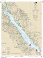 Buy map York River Yorktown to West Point Nautical Chart (12243) by NOAA from Virginia Maps Store